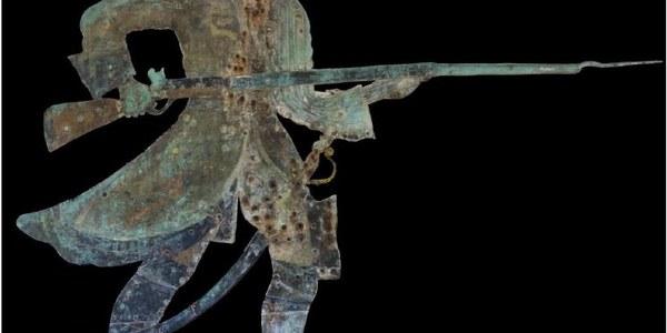 Restauración de la veleta 'El Miguelete' de la Real Fábrica de Artillería
