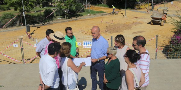 Reurbanización del entorno del parque Santa Juana Jugán