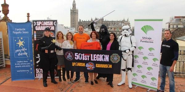 Sevilla acoge el próximo sábado el TD (Training Day) de Star Wars, que contará con un desfile en el que participarán más de 300 personas disfrazadas de personajes de la saga