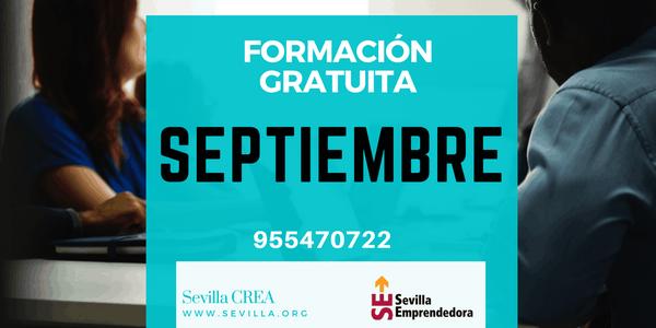 Sevilla Emprendedora - Ya disponible el calendario formativo de septiembre