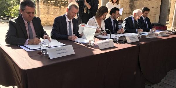 Sevilla firma la Declaración de Córdoba de Ciudades por la Paz, el Diálogo y la Tolerancia