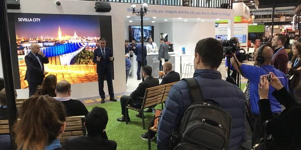 Sevilla presenta sus proyectos de innovación tecnológica en el Smart City World Congress