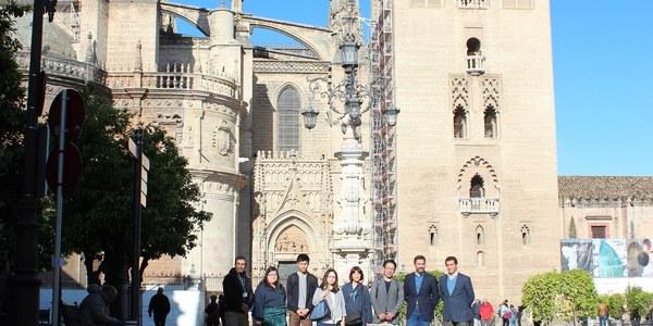 Sevilla recibe a 5 turoperadores japoneses en el marco de la alianza turística 'Andalusian Soul' y de la estrategia para impulsar los mercados asiáticos y en colaboración con Turkish Airlines
