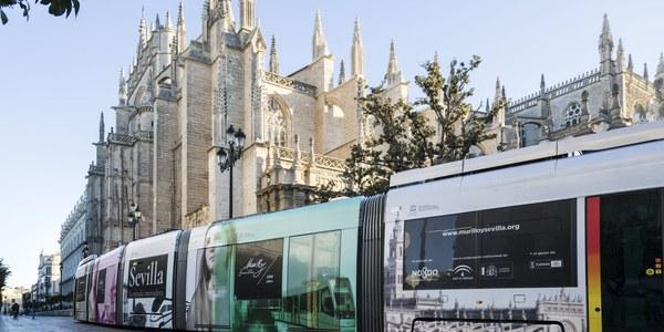 Sevilla se engalana con la imagen de Año Murillo