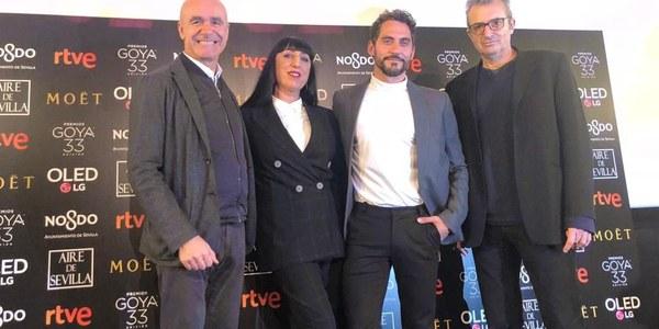 Sevilla se erige como protagonista en el acto de Nominaciones de los Premios Goya con una promoción de la ciudad que acoge la Gala el próximo 2 de febrero