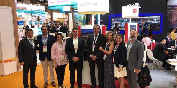 Sevilla se promociona de la mano  de la marca turística Andalusian Soul en la feria más importante del Sudeste Asiático con un enfoque hacia el segmento premium