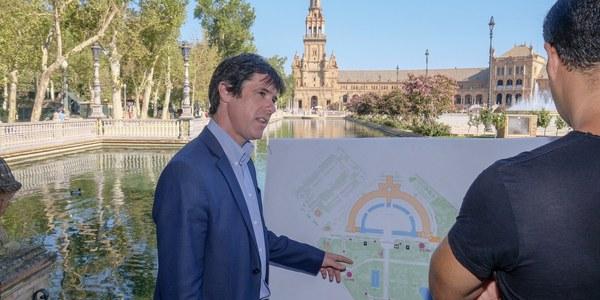 Tres nuevos circuitos de running para los parques de María Luisa, Vega de Triana y Los Bermejales