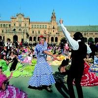 Sevillanas Plaza España