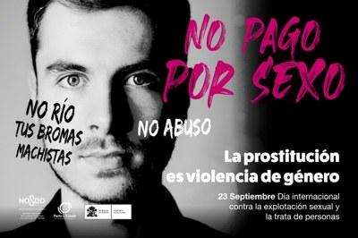 23 de Septiembre. Día Internacional contra la Explotación Sexual y la Trata de personas