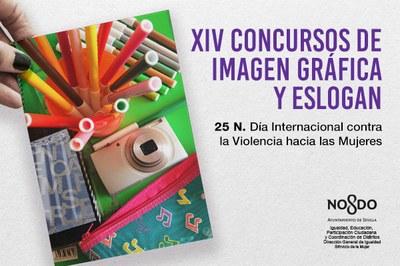 Concursos de imagen gráfica y eslogan con motivo del Día Internacional contra la Violencia de Género