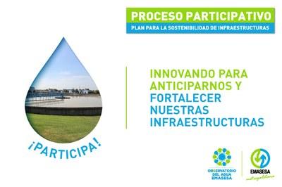 Consulta ciudadana del Plan para la Sostenibilidad de las Infraestructuras de Emasesa