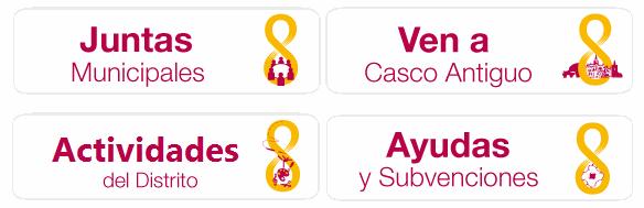 Destacados, Distrito Casco Antiguo