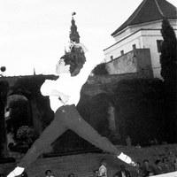 II Festival Internacional de Sevilla. Función de gala del Ballet español de Antonio en el Patio de la Montería. 1955 ©ICAS-SAHP, Fototeca Municipal de Sevilla, fondo Cubiles