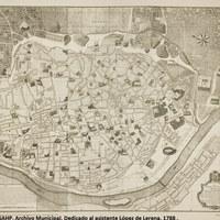 2. ©ICAS-SAHP, Archivo Municipal. Dedicado al asistente López de Lerena. 1788 .