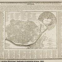 3. ©ICAS-SAHP, Archivo Municipal. Dedicado al asistente Arjona. 1832.