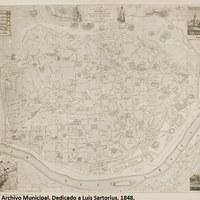 4. ©ICAS-SAHP, Archivo Municipal. Dedicado a Luis Sartorius. 1848.