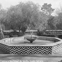 8. Fuente de la Venera. 1910-1920 ca.  ©ICAS-SAHP, Fototeca Municipal de Sevilla, fondo Serrano