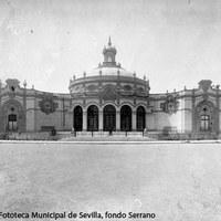 27. Pabellón de Sevilla de la Exposición Iberoamericana de 1929, actual Casino de la Exposición. 1929 ©ICAS-SAHP, Fototeca Municipal de Sevilla, fondo Serrano
