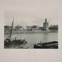 1- Sevilla. Torre del Oro. 1893 ©ICAS-SAHP, Biblioteca del SAHP
