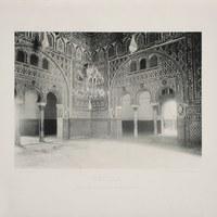 11-Sevilla. Real Alcázar. Salón de Embajadores. 1892 ©ICAS-SAHP, Biblioteca del SAHP