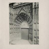 12- Sevilla. Catedral. Portada principal o de la Asunción. 1893 ©ICAS-SAHP, Biblioteca del SAHP