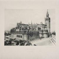 13- Sevilla. Vista de la Catedral. 1893 ©ICAS-SAHP, Biblioteca del SAHP
