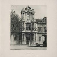 16- Sevilla. Palacio de San Telmo 1894 ©ICAS-SAHP, Biblioteca del SAHP