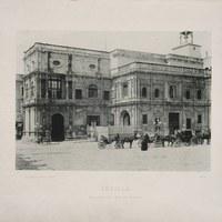 3- Sevilla. Ayuntamiento desde la Plaza de San Francisco. 1893 ©ICAS-SAHP, Biblioteca del SAHP
