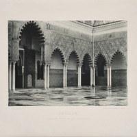 7- Sevilla. Real Alcázar. Patio de las Doncellas. 1892 ©ICAS-SAHP, Biblioteca del SAHP