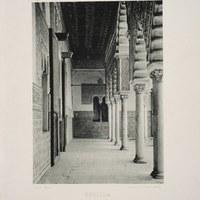 8- Sevilla. Real Alcázar. Patio de las Doncellas. 1892 ©ICAS-SAHP, Biblioteca del SAHP