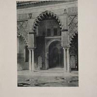 9- Sevilla. Real Alcázar. Patio de las Doncellas. 1893 ©ICAS-SAHP, Biblioteca del SAHP