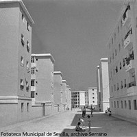 2. Viviendas de la barriada del Carmen. [1962] ©ICAS-SAHP, Fototeca Municipal de Sevilla, archivo Serrano