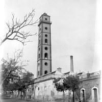 """18. Fundición de plomo """"San Francisco de Paula"""", de Manuel Mata. Torre de los Perdigones. 1895 ©ICAS-SAHP, Fototeca Municipal de Sevilla, archivo Caparró"""