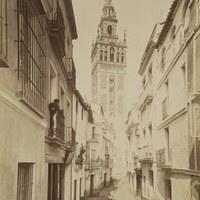2. Lucien Levy. Calle Mateos Gago. ca. 1880  ©ICAS-SAHP, Fototeca Municipal de Sevilla, colección Siglo XIX