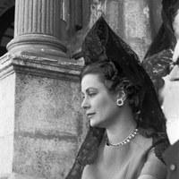 La princesa de Mónaco, Grace Kelly en la Real Maestranza. 1966 ©ICAS-SAHP, Fototeca Municipal de Sevilla, fondo Cubiles