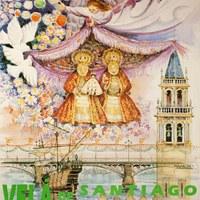 7. Velá de Santiago y Santa Ana. 1992. Cartel. Firma: Maireles ©ICAS-SAHP, Archivo Municipal de Sevilla