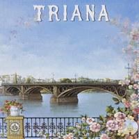 11. Triana. Velá de Santiago y Santa Ana. 1997. Cartel. Firma: Juan Roldán ©ICAS-SAHP, Archivo Municipal de Sevilla