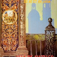 18. Triana. Velá de Santiago y Señá Santa Ana. 2003. Cartel. Firma: Alfredo Bautista ©ICAS-SAHP, Archivo Municipal de Sevilla