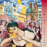 19. Velá de Santiago y Santa Ana. 2004. Cartel. Firma: Vese ©ICAS-SAHP, Archivo Municipal de Sevilla