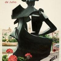 20. Velá de Santiago y Santa Ana. 2007. Cartel. Firma: Vargas ©ICAS-SAHP, Archivo Municipal de Sevilla