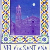 21. Velá de Sant´Ana. Triana. 2012. Cartel. Firma: V. Flores Luque ©ICAS-SAHP, Archivo Municipal de Sevilla