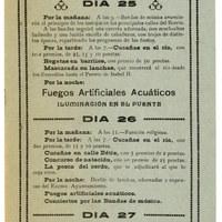 23. Velada de Santiago y Santa Ana. 1919. Programa ©ICAS-SAHP, Archivo Municipal de Sevilla