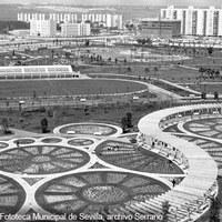 Parque de los Príncipes. 1973 ©ICAS-SAHP, Fototeca Municipal de Sevilla, archivo Serrano