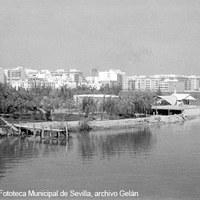 Club Náutico. 1961 ©ICAS-SAHP, Fototeca Municipal de Sevilla, archivo Gelán