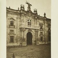 Fachada principal de la Fábrica de Tabacos, hoy sede del Rectorado de la Universidad de Sevilla. 1929 ©ICAS-SAHP, Fototeca Municipal de Sevilla. Álbum Dücker