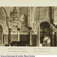 Cuarto Real Alto en el Real Alcázar. 1929 ©ICAS-SAHP, Fototeca Municipal de Sevilla. Álbum Dücker