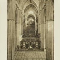 Catedral de Sevilla. Trascoro en la nave central. 1929 ©ICAS-SAHP, Fototeca Municipal de Sevilla. Álbum Dücker