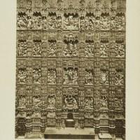 Retablo del Altar Mayor de la Catedral de Sevilla. 1929 ©ICAS-SAHP, Fototeca Municipal de Sevilla. Álbum Dücker