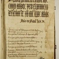 5.Volumen I, paginas iniciales con el índice de documentos copiados