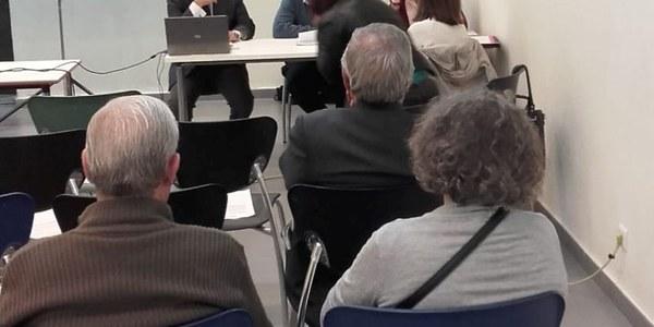 Jornada sobre el Plan Estratégico Sevilla 2030 celebrada en el Distrito Bellavista - La Palmera